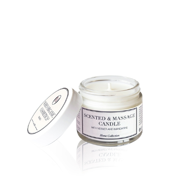 Scented and Massage Candle with Vetiver and Mandarine