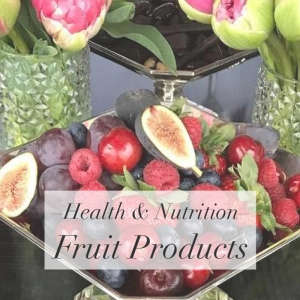 Health & Nutrition – Fruit Products